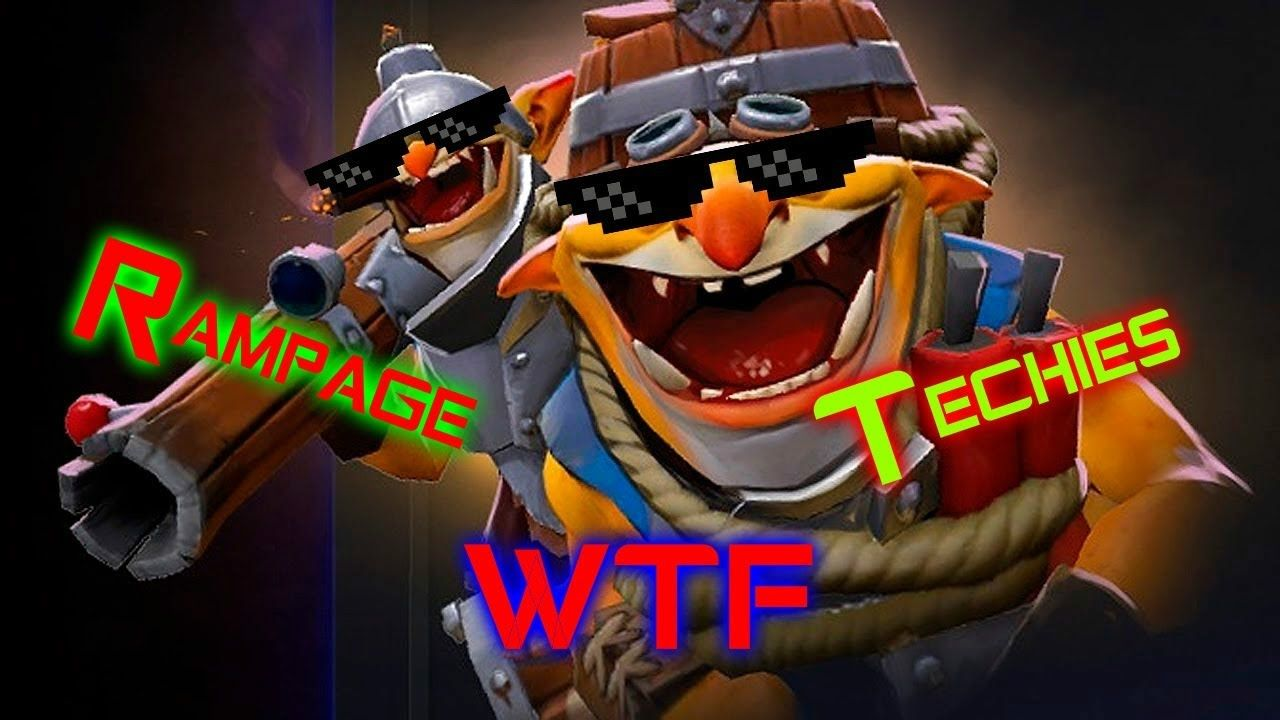 Dota 2 WTF Patch 7 00 moment #3 EZ -Techies rampage | Dota 2