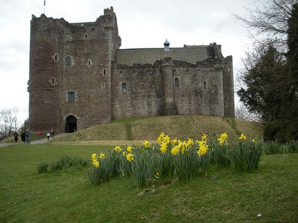 Castle Doune -- Used to film Winterfell in the pilot episode