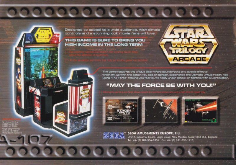 """10 máquinas #arcade de leyenda """"Star Wars Trilogy"""" #game"""