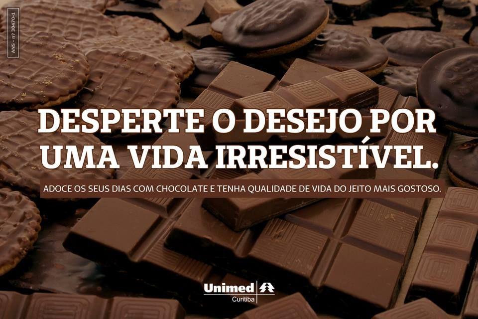 Para adoçar a vida com saúde!  Cinco bons motivos para comer chocolate todos os dias: http://unimed.me/19biyyN