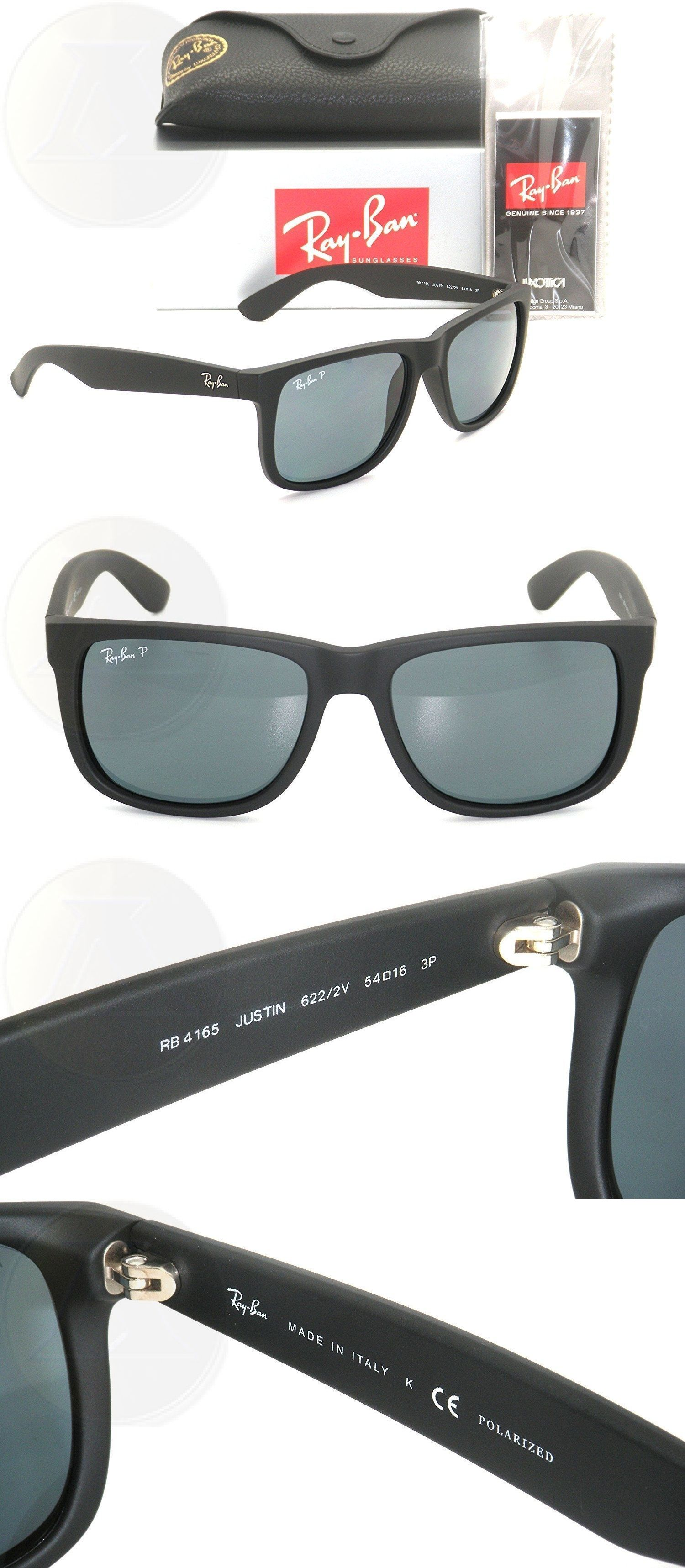 46c9aa03d ... denmark australia eyewear accessories 179245 ray ban justin rb 4165 622  2v 55mm rubber black dark