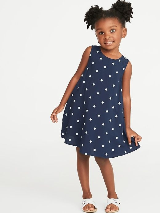 2e753dca1 Old Navy Printed Sleeveless Swing Dress for Toddler Girls in 2019 ...