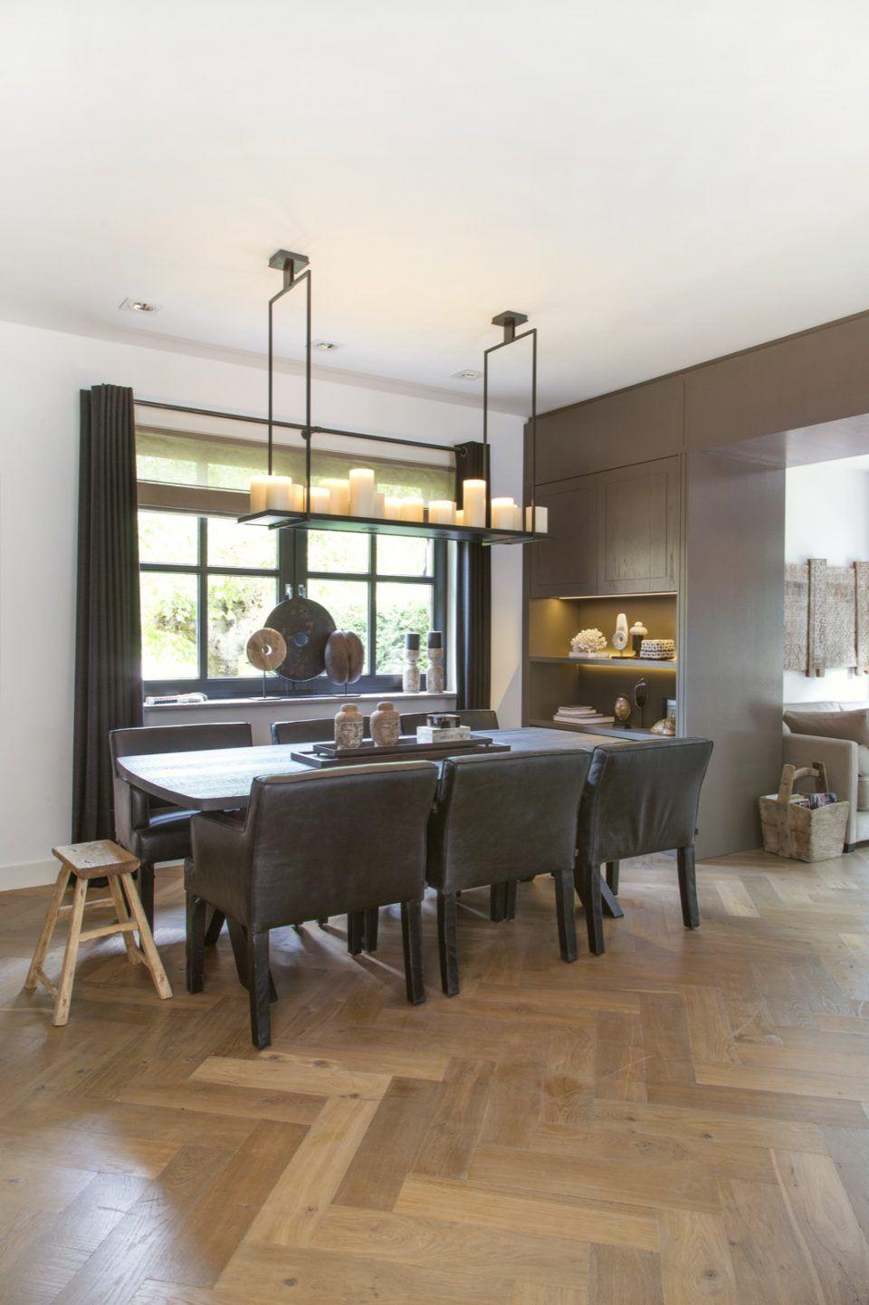 Luxe eettafel met stoelen | eetkamer design | dining room | dining ...