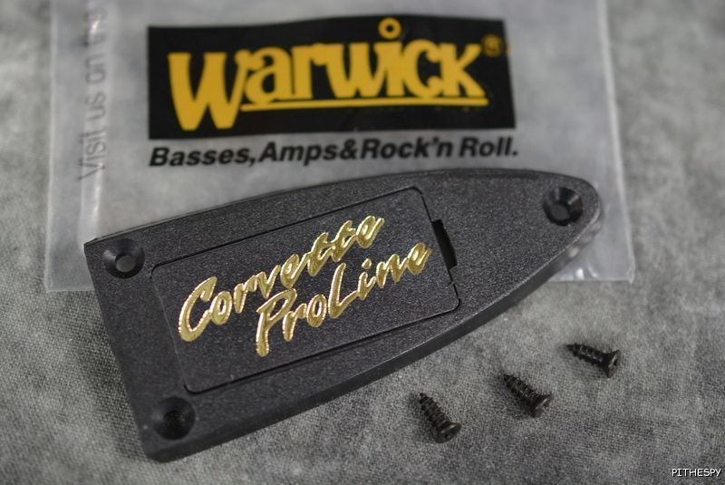 warwick corvette proline truss rod cover inspiration bass guitar parts guitar parts. Black Bedroom Furniture Sets. Home Design Ideas