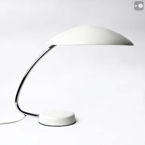 Very Striking Vintage 1950u0027s Desk Lamp, Very Much In The Style Of Gino  Sarfatti For