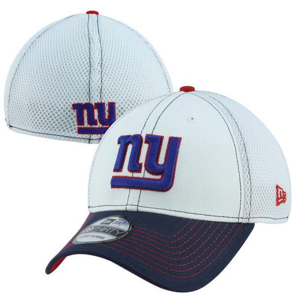 6acf8468269 New Era New York Giants 39THIRTY Blitz Neo Flex Hat - White Royal Blue