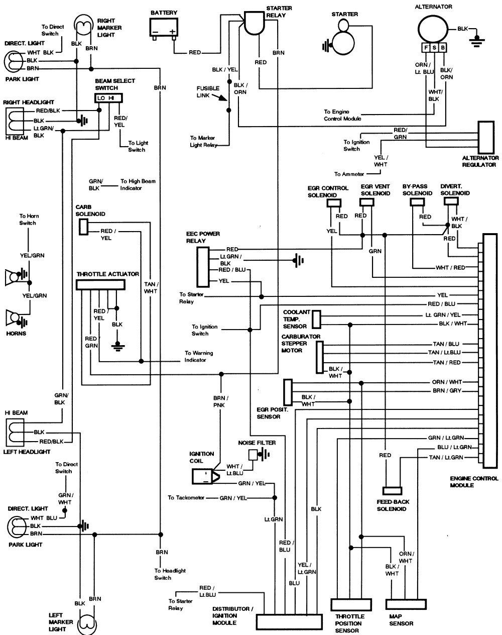 Alternator Wiring Diagram On 92 Ford F150 Alternator Wiring Diagram