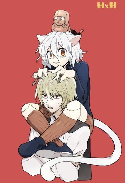 Shiapouf Youpi And Neferpitou Hunter X Hunter Hunter X Hunter Hunter Anime Hunter