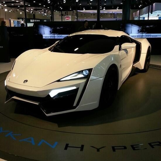 One Of The Most Expensive Super Cars In The World The Lykan Hipercar Super Cars Most Expensive Supercars Best Luxury Cars