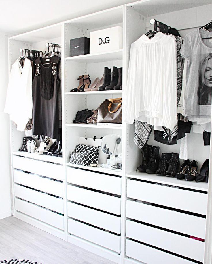 Modern Minimalist Closet | Modern closet designs, Modern