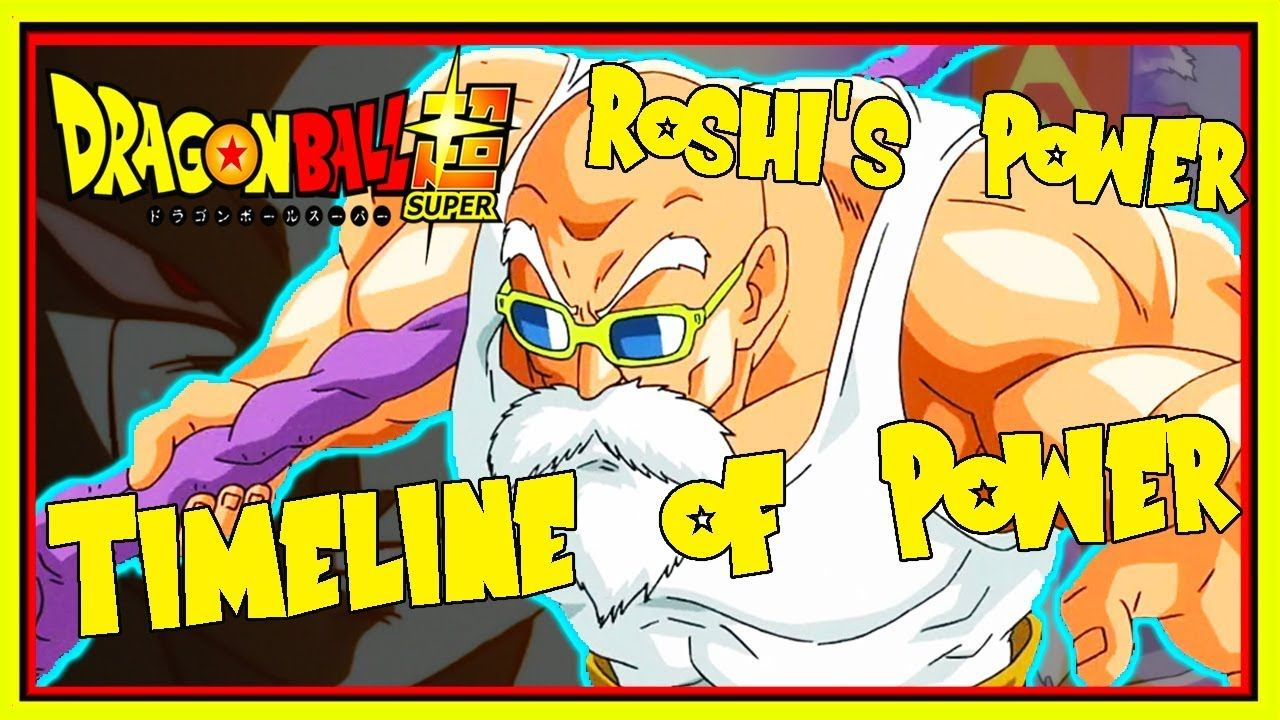 Master Roshi S New Power Explained How Strong Is Roshi In Dbs Dragon B Dragon Ball Super Dragon Ball Dragon