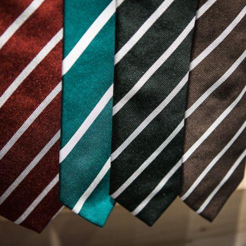 http://chicerman.com  landerurquijo:  AW2016 Striped ties any coloryou like!!!/ Las corbatas de rayas de la colección otoño/invierno todavía disponibles en multitud de colores  #menshoes