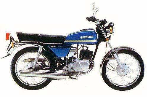 Una Clásica 2 Tiempos De Mis Favoritas Motos Clasicas Suzuki Motos Motos Personalizadas