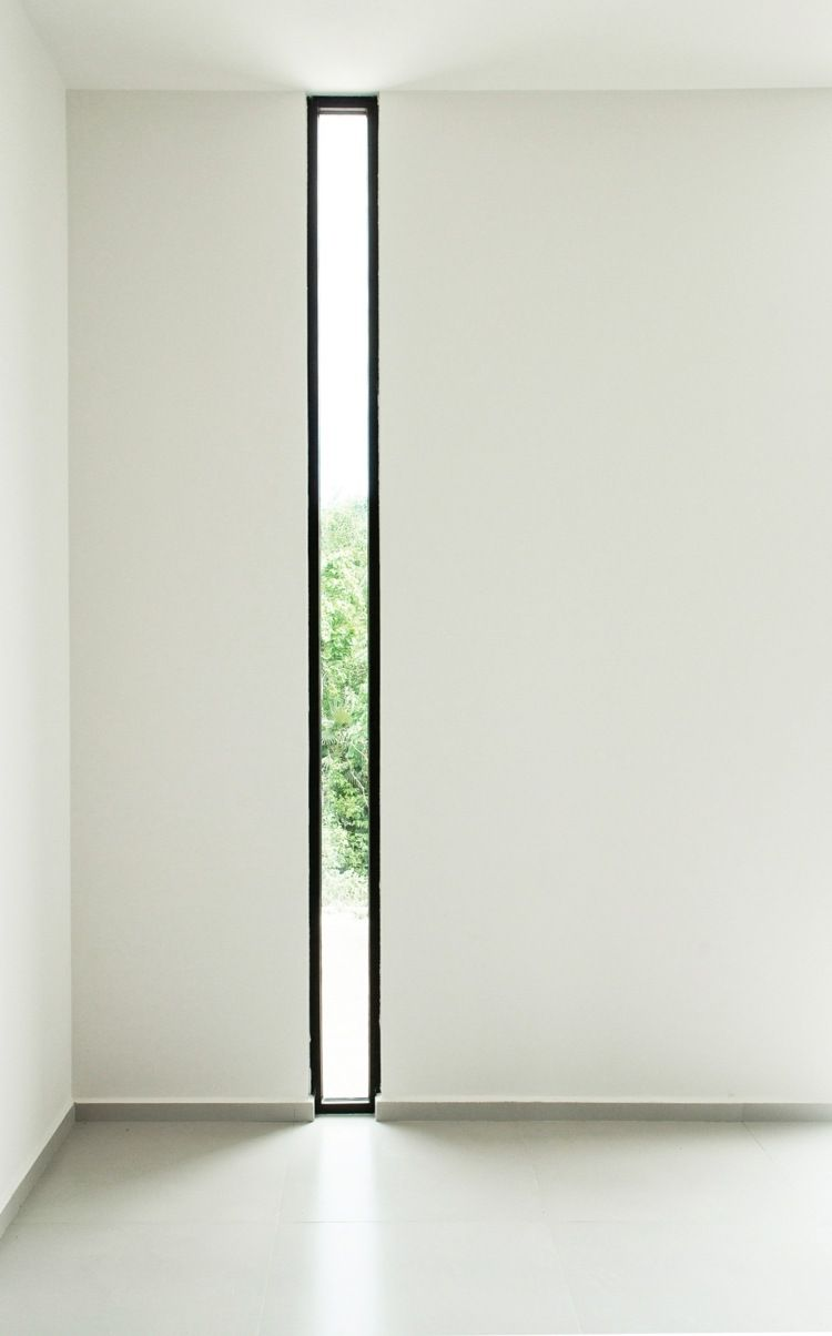 Vertikales Design für ein schmales Fenster | Scheuen Fenster ...