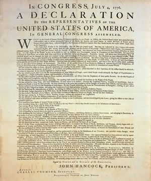Why Is The Declaration Of Independence Important