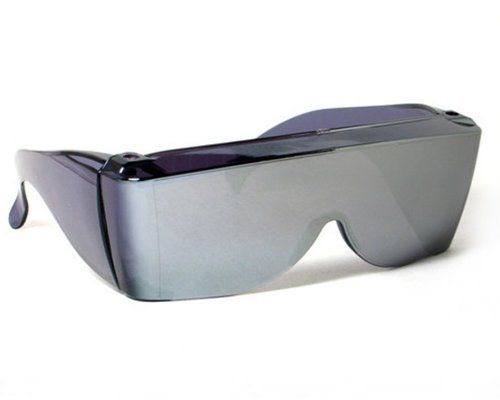 21988ec8b5 Cover Ups Silver Mirror Fit Over Sunglasses Wear Over Prescription Glasses  grinderPUNCH http