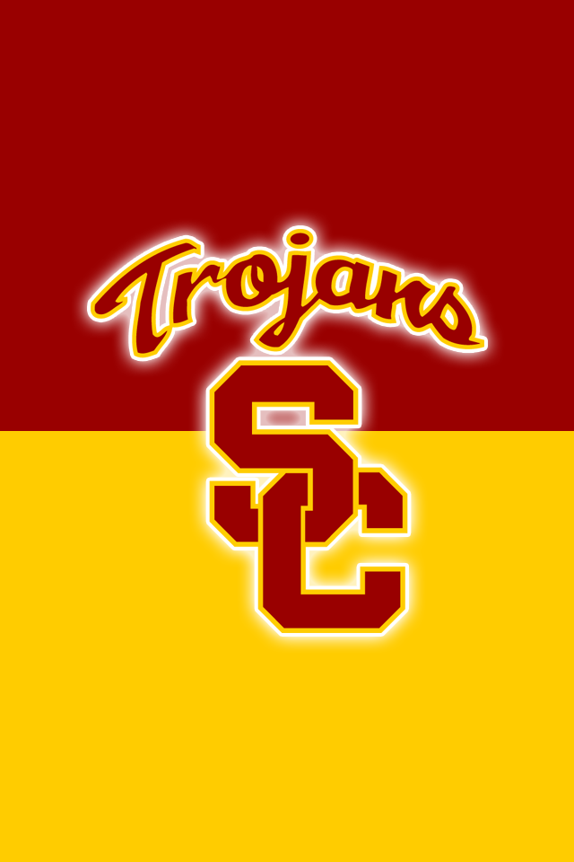 Get A Set Of 12 Officially Ncaa Licensed Usc Trojans Iphone Wallpapers Sized For Any Model Of Iphone With You Usc Trojans Usc Trojans Football Usc Trojans Logo