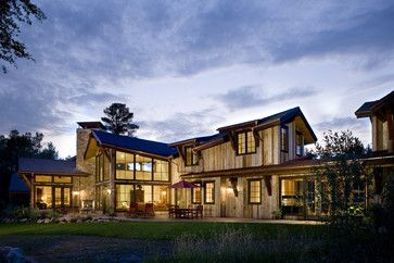 Ranch Home Exterior Design Ideas Rustic Modern Stone Wood Vertical Siding Ranch House