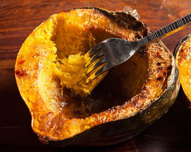 Easy Roasted Acorn Squash Recipe Squash Recipes Recipes