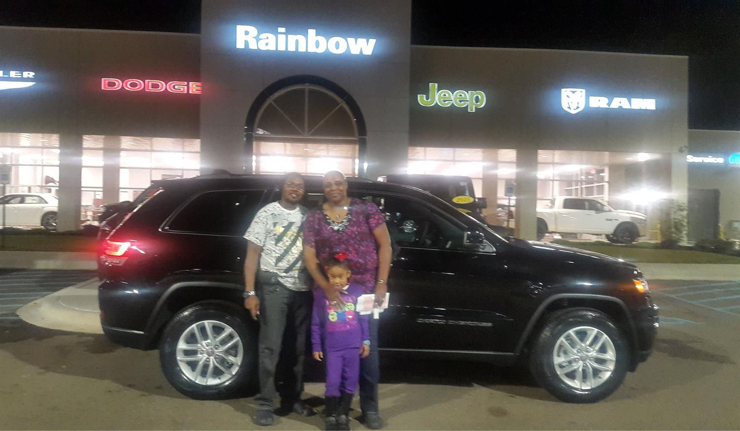 Delightful Beverly And Burnell, We Hope You Enjoy Your New 2018 JEEP GRAND CHEROKEE.  Congratulations. Chrysler Dodge ...