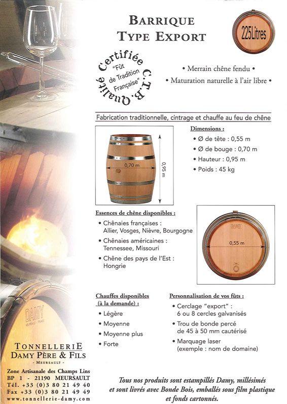 French Oak Barrels Bordeaux 225 Liters French Oak Oak Barrel Bordeaux