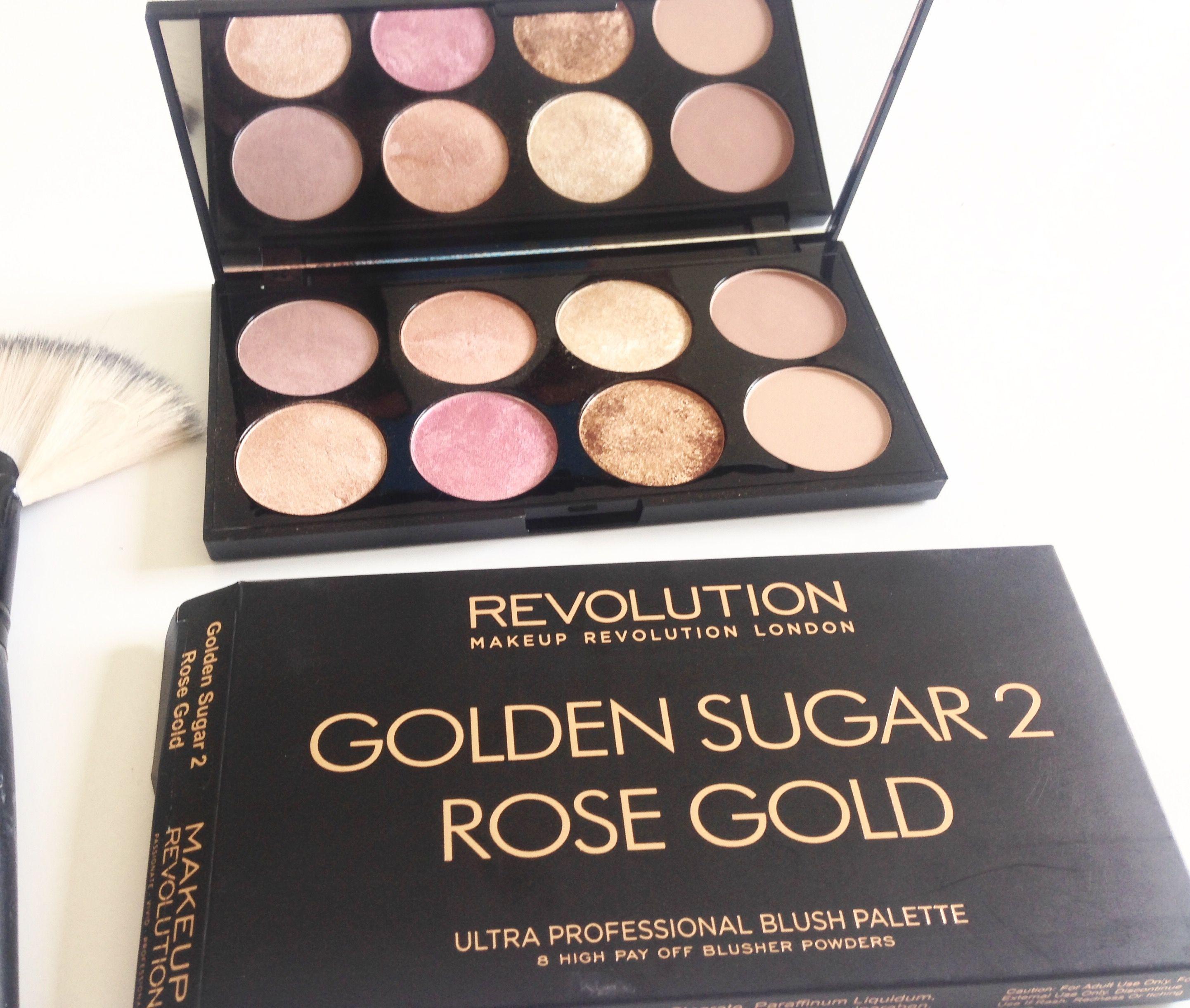 Palette blush makeup revolution London disponible chez