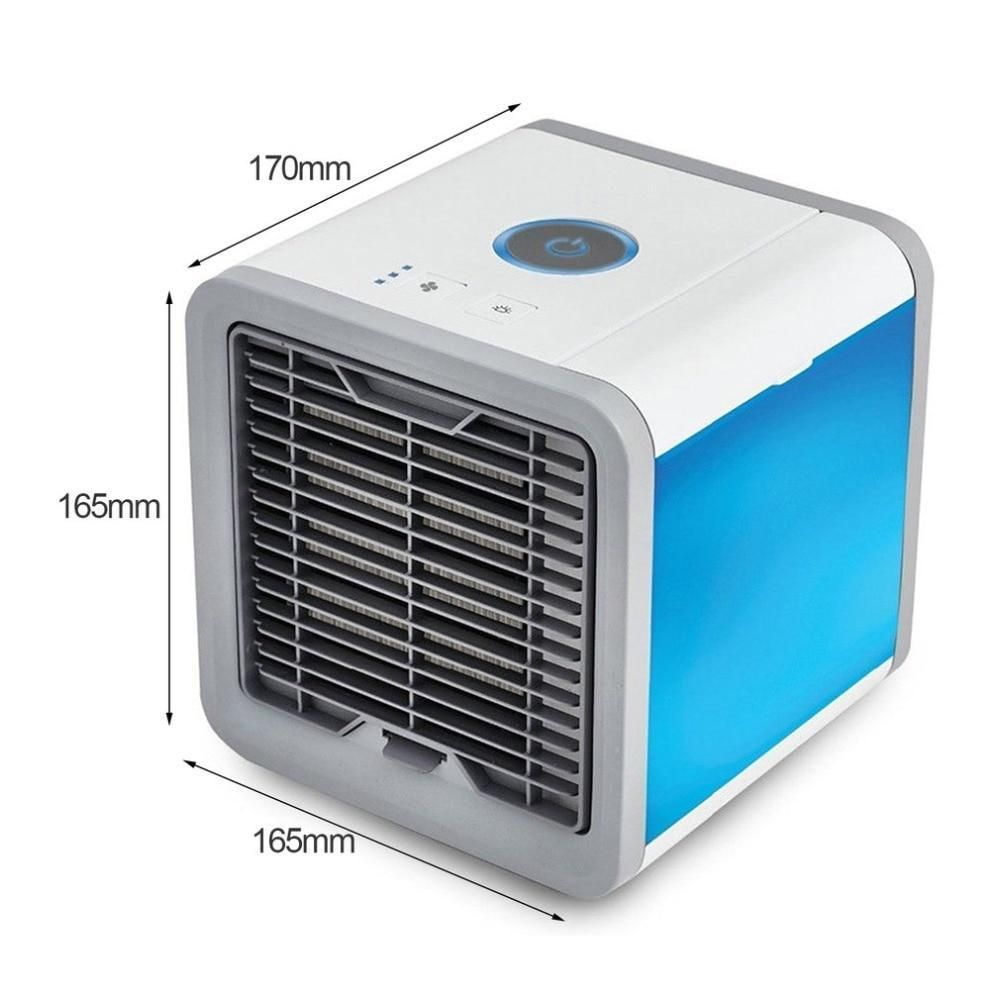 Usb Cooling Fan Portable Mini Air Conditioner Led Fan Cooling Fan