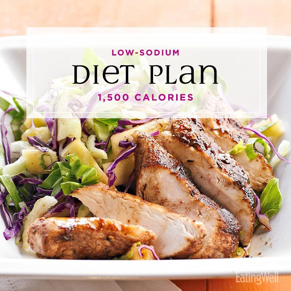 Photo of Plan für eine natriumarme Ernährung: 1.500 Kalorien | EatingWell #weightlosstransformation #die …