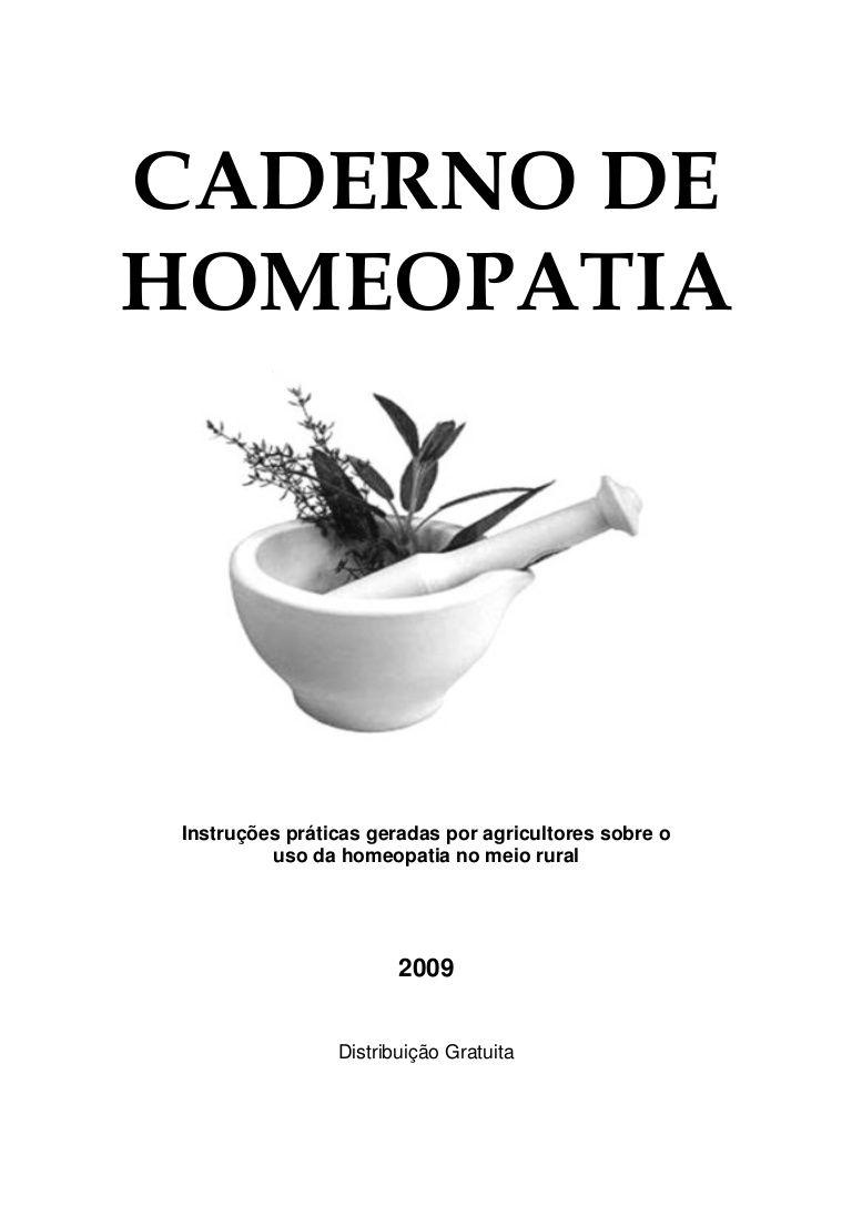 Apostila de homeopatia da UFV