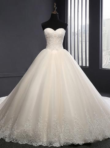 Photo of White Wedding Dresses,Tulle Off the Shoulder Wedding Dress,Princess We – Wishing…
