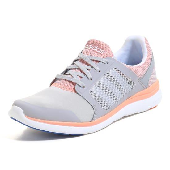 1fffea86b6a67a adidas neo CLOUDFOAM XPRESSION Sneaker Dame grå-abrikos
