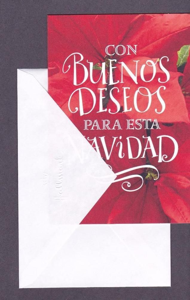Spanish Christmas Greeting Card My Wishes For You At Hallmark