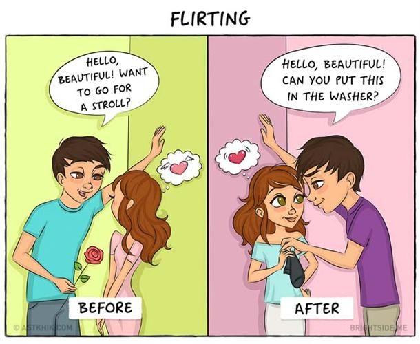 Dating εναντίον αστεία γάμου