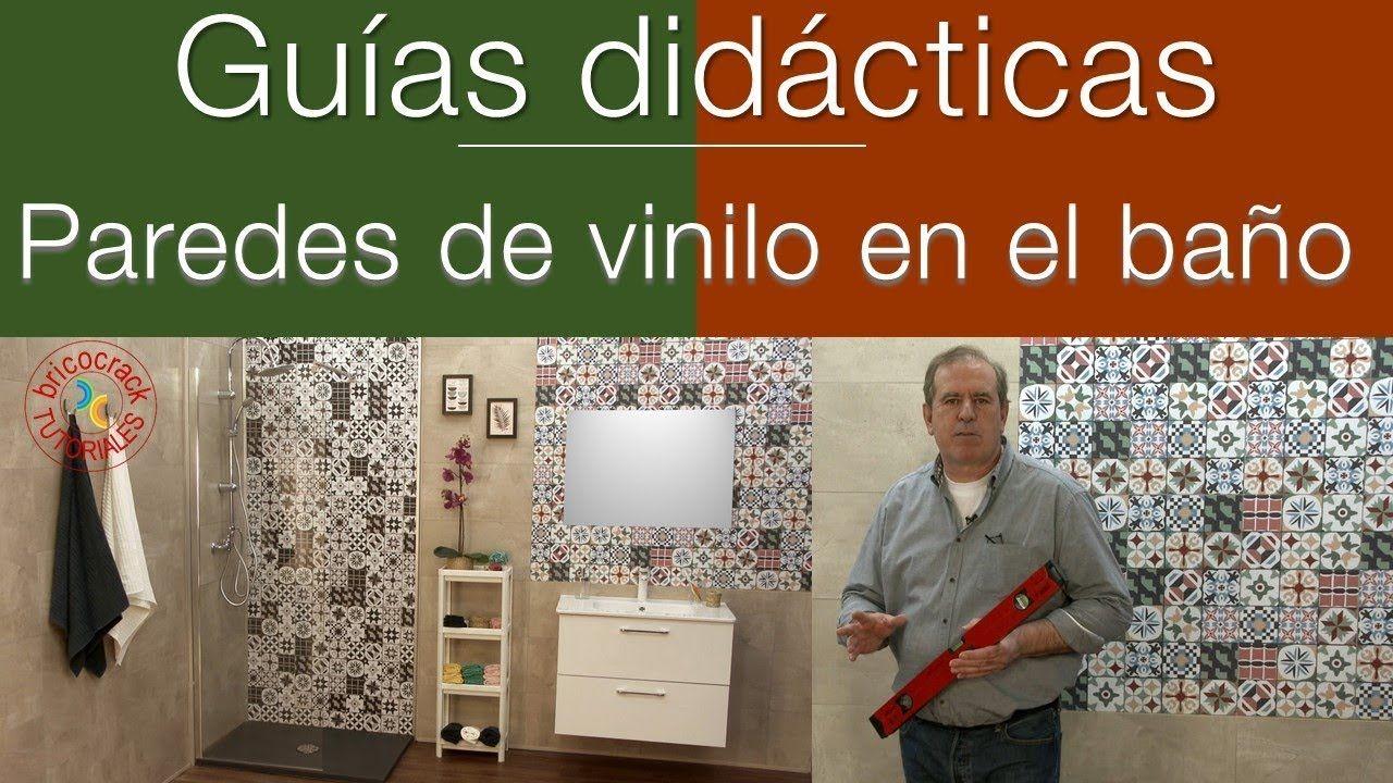 Instalar placas de vinilo en el baño (Bricocrack) | Tubo ...