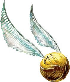 An Amazing Drawing Of A Golden Snitch Harry Potter Art Harry