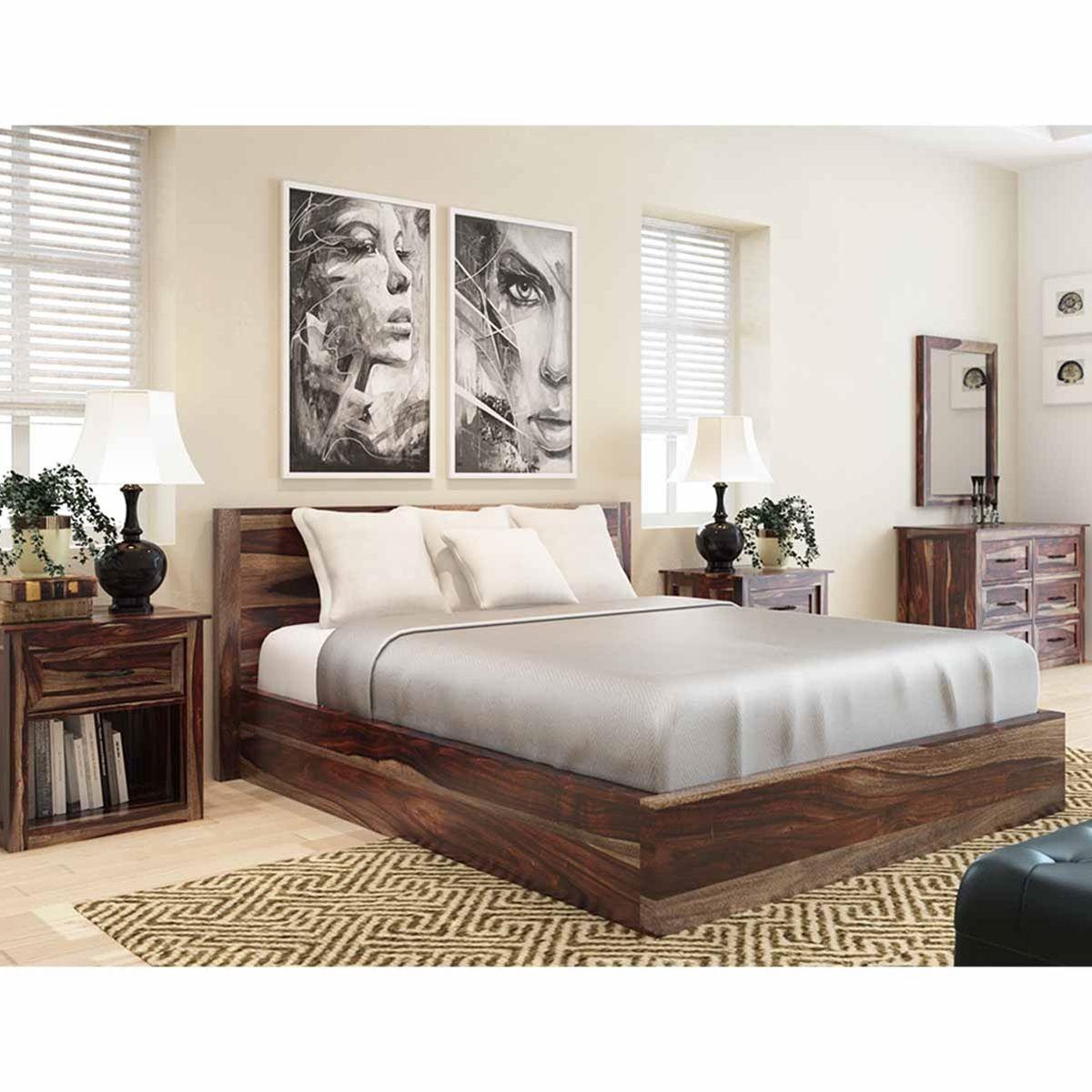 Jamaica 5 Piece Bedroom Collection   Wood bedroom, Bedrooms and Woods