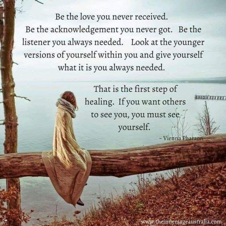Pin by ash on self Inner child healing, Words, Quotes