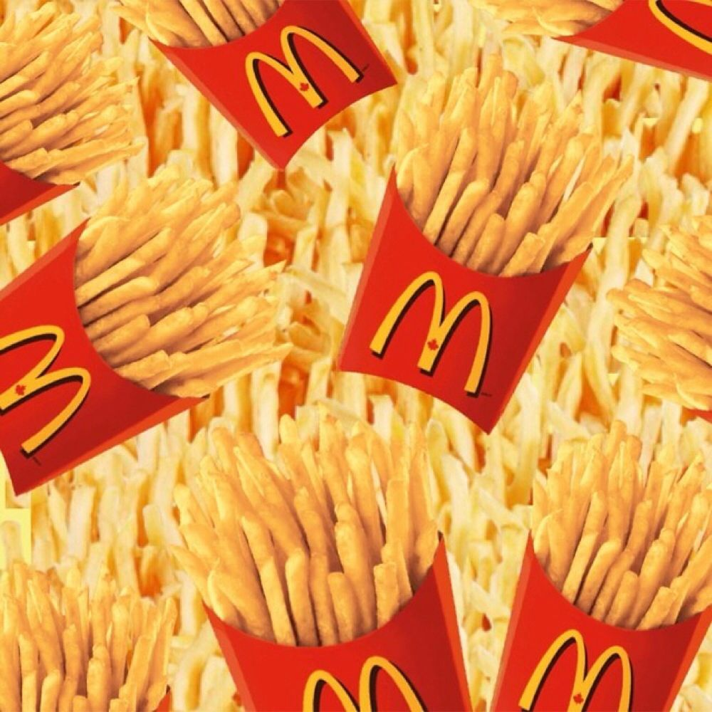 background of mcdonalds On the 75th anniversary of the opening of the first mcdonald's who lent their name to the business and pioneered the fast-food concept faded to the background.