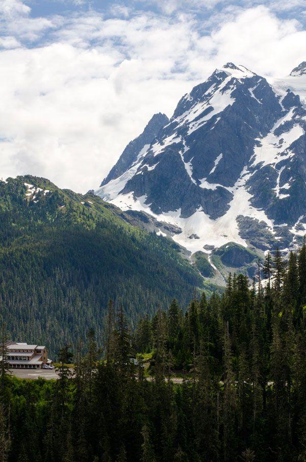 Hiking Artist Point at Mount Baker Artist point, Scenery