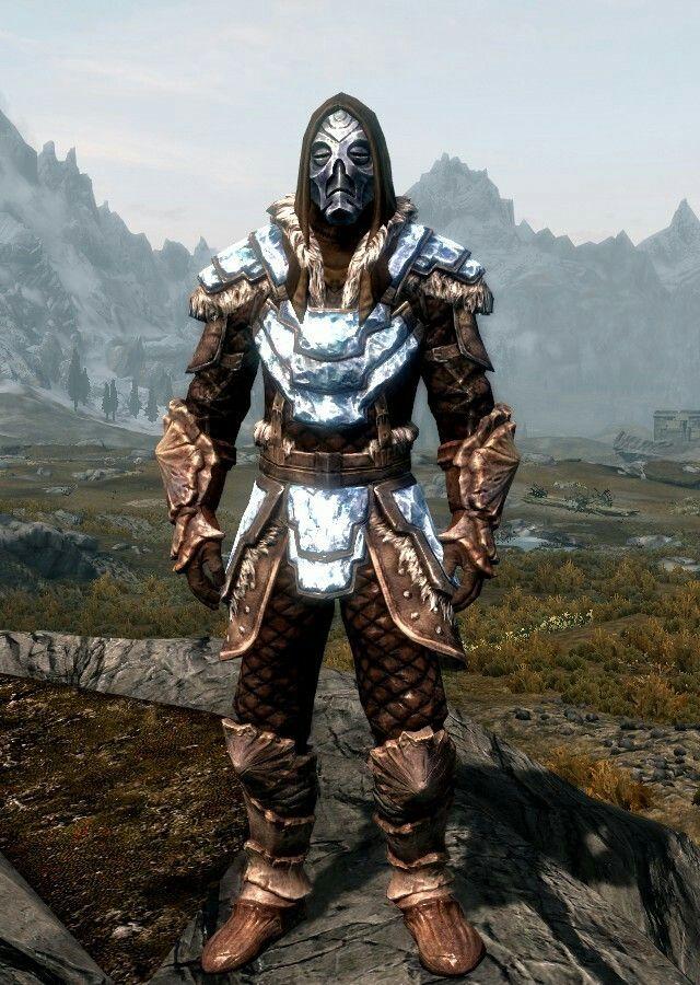Golem By Oneness Stalhrim Light Armor Chitin Boots And Gauntlets Morokei Skyrim Armor Skyrim Armor Sets Skyrim Art