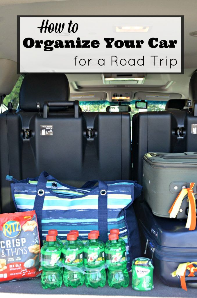 How to Organize Your Car for a Road Trip I Road Trip Planning Made Easy
