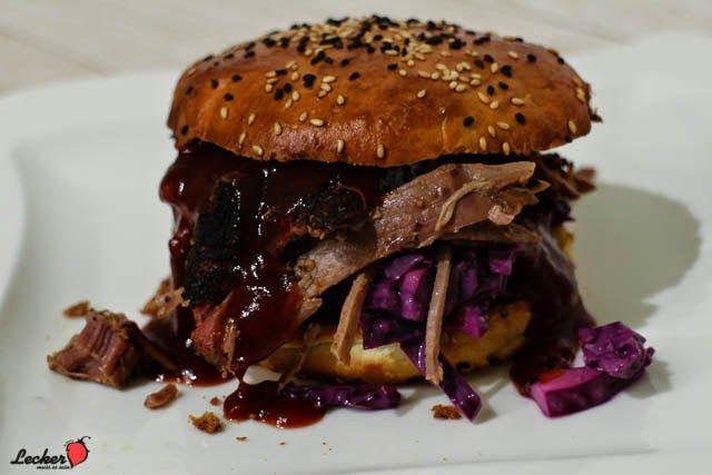 Pulled Pork Burger Gasgrill : Rezept für pulled wildschwein auf dem gasgrill rezepte bbq und