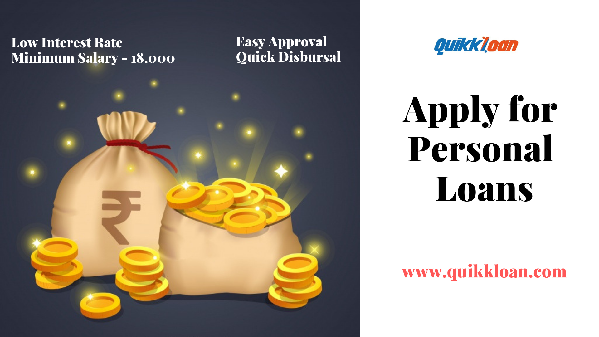 Instant personal loan approval and disbursal within 72