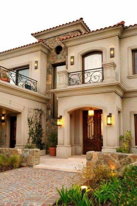 Balcony dise o balcony dise o in 2019 pinterest casas casa estilo and casas clasicas - Casas clasicas ...
