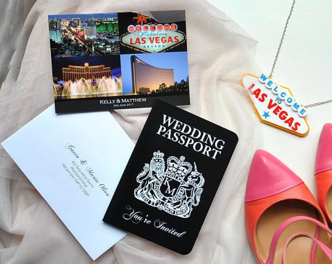 Travel inspired wedding invitations and by DestinationKate on Etsy