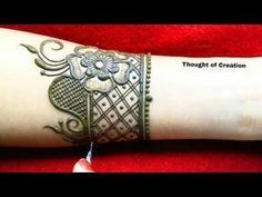 Easy stylish arabic mehndi design for hands thought of creation youtube also rh pinterest