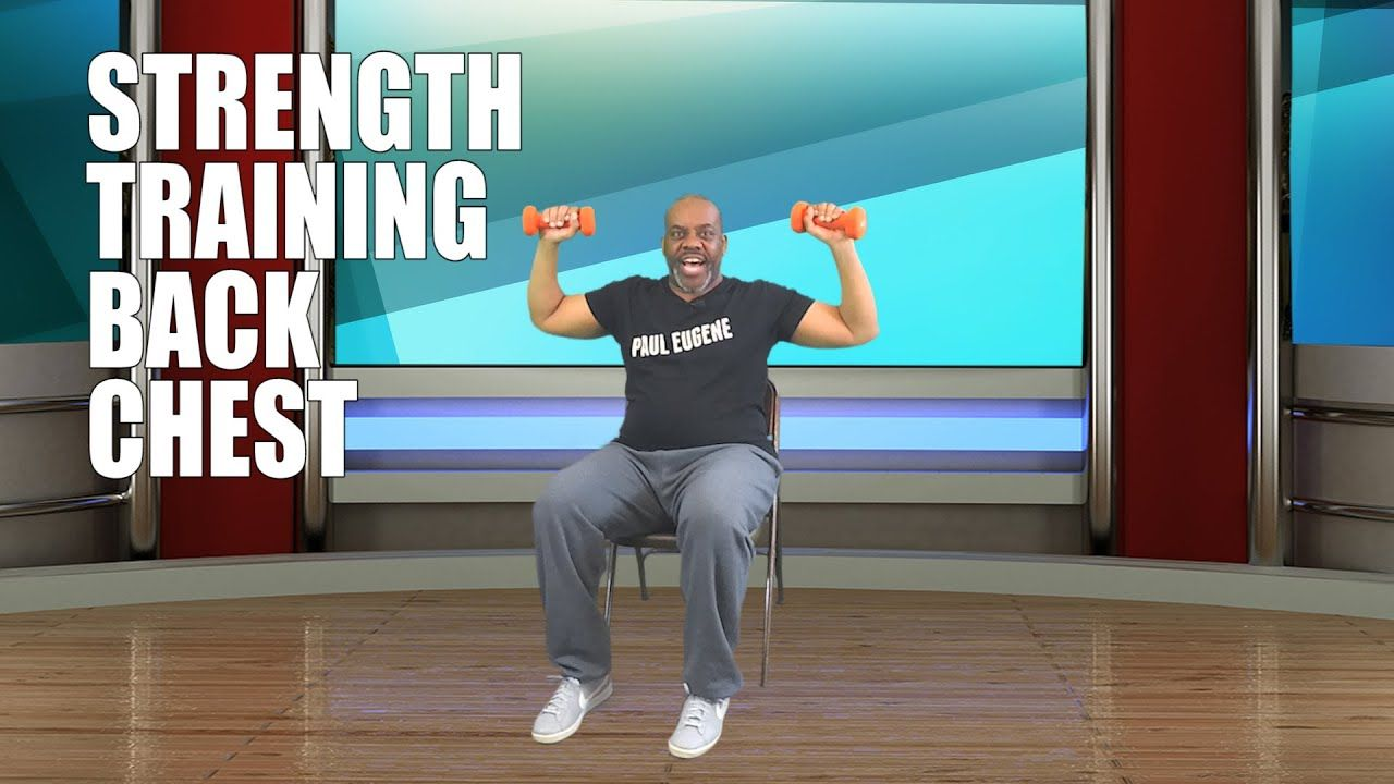 Back and Chest Exercise for Everyone! Workout Strengthen