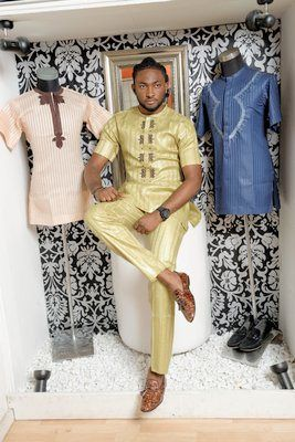 Nigeria S Great Designer Yomi Casual His Latest Designs For Men African Men Fashion African Clothing For Men African Attire For Men