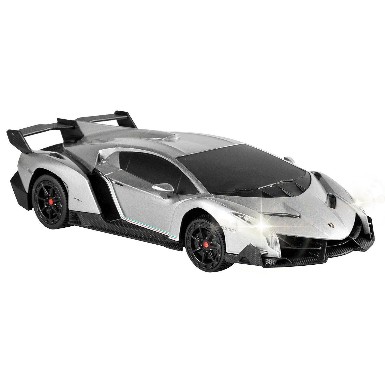 Amazon Com Qun Feng Electric Rc Car Lamborghini Veneno Radio Remote Control Vehicle Sport Racing Hobby G Rc Cars Electric Lamborghini Veneno Sports Car Racing