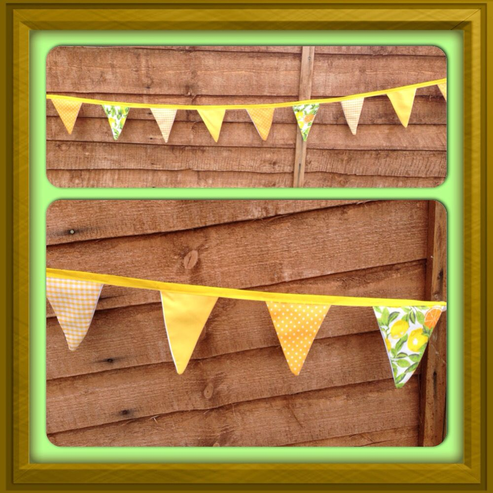 Harvest/Spring Time Bunting